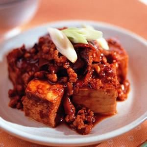 麻辣凍豆腐