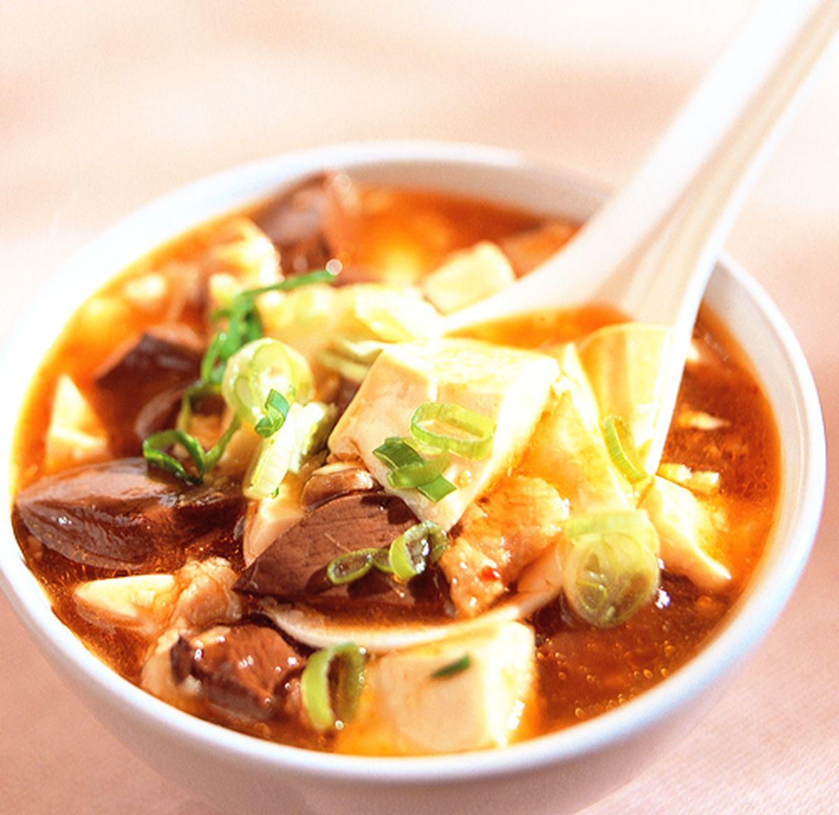 食譜:紅白豆腐