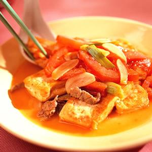 番茄燒豆腐