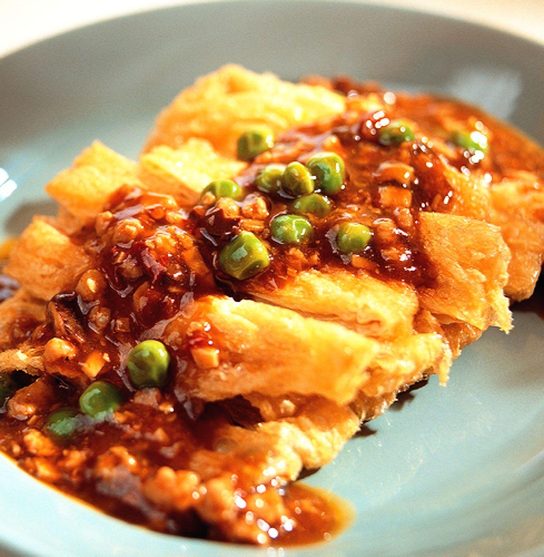 食譜:魚香燴豆包