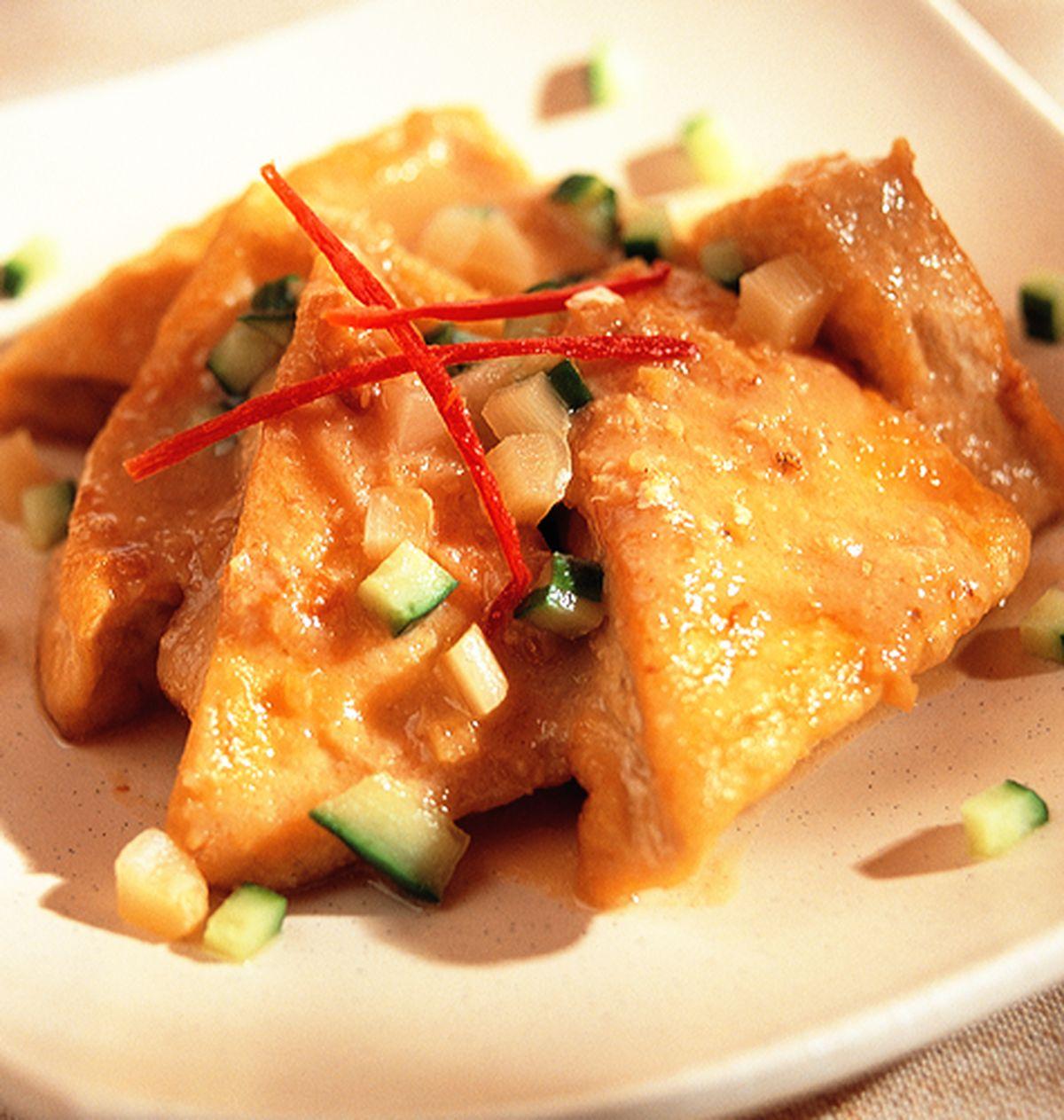 食譜:乾燒味噌豆腐