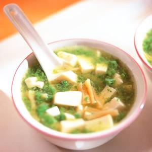 翡翠豆腐羹(1)