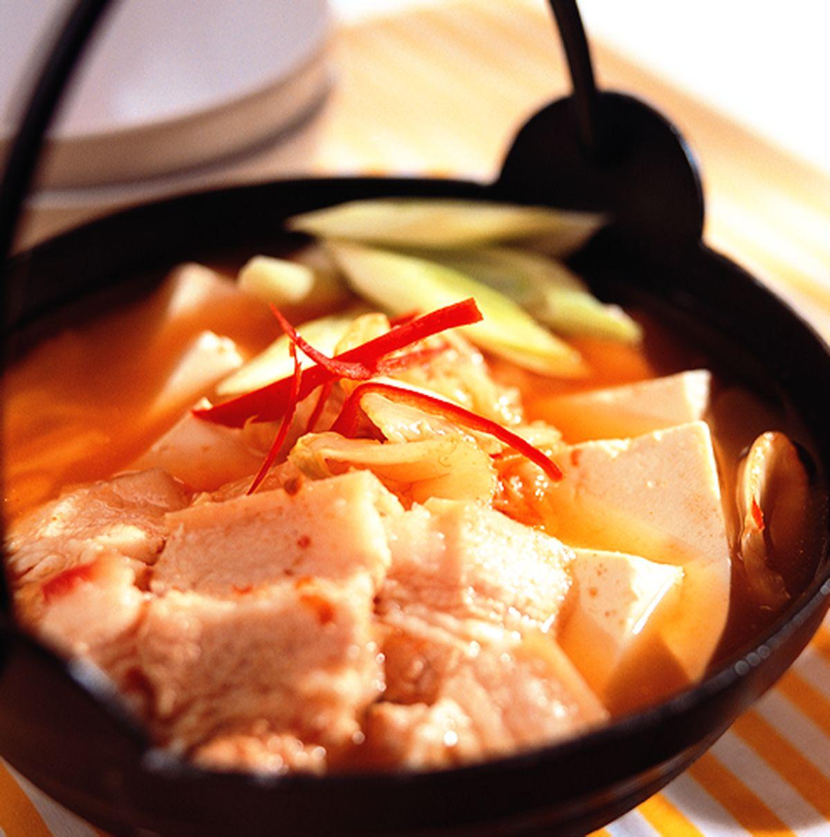 食譜:韓式豆腐鍋
