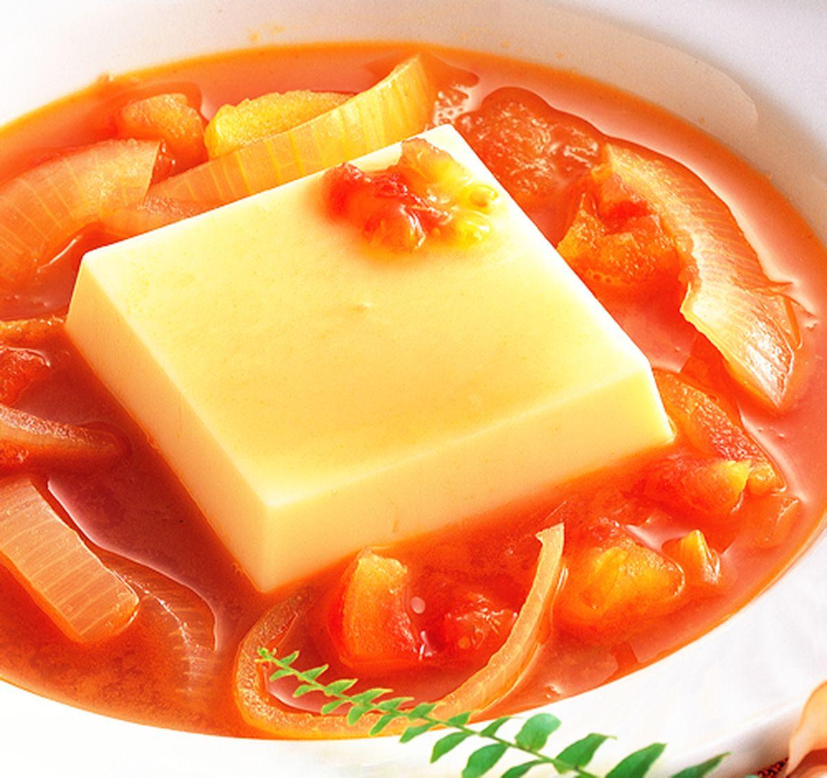 食譜:義式豆腐蔬菜湯