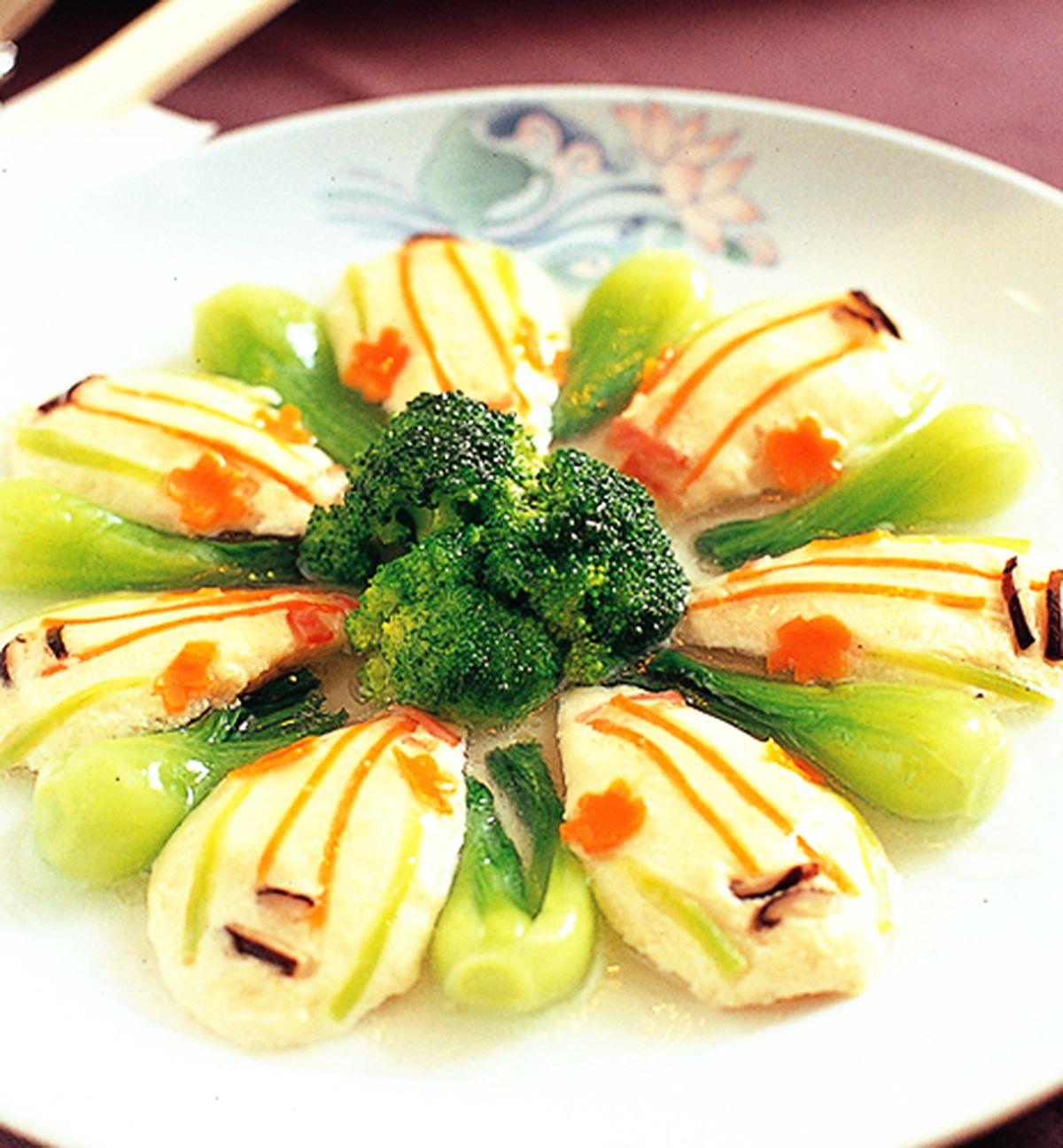 食譜:琵琶豆腐