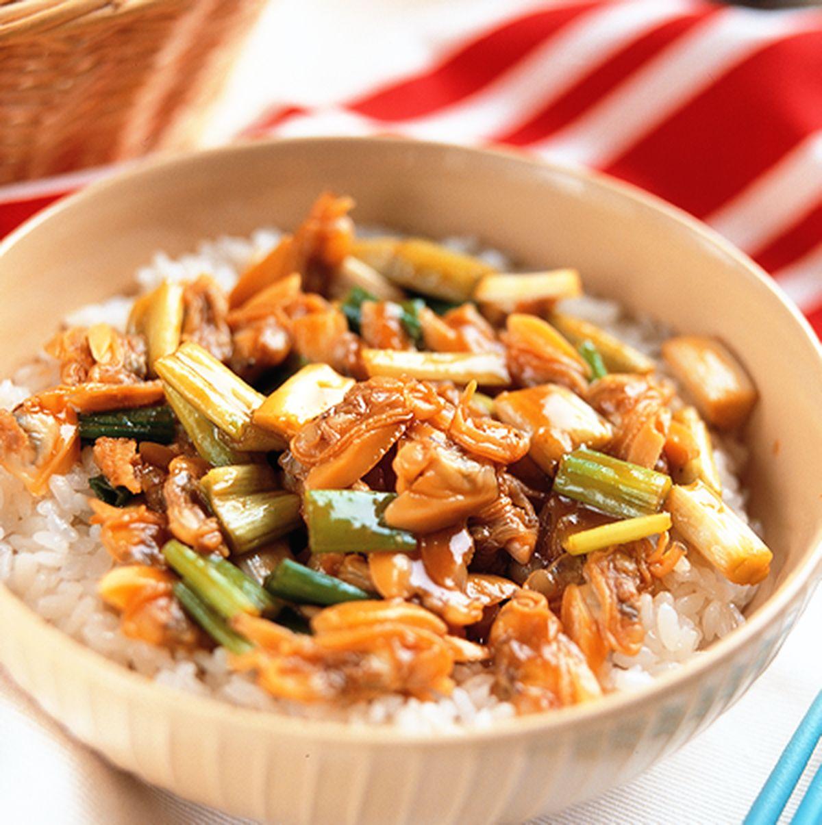 食譜:海瓜子丼