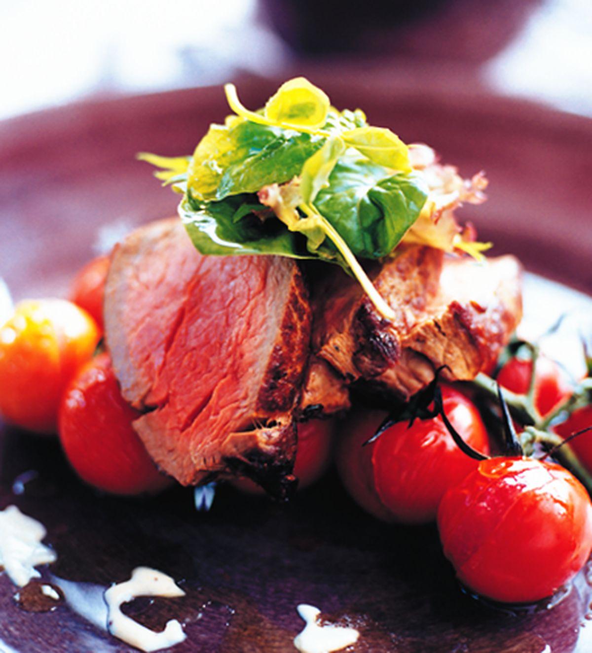 食譜:蕃茄蒜醬牛肉