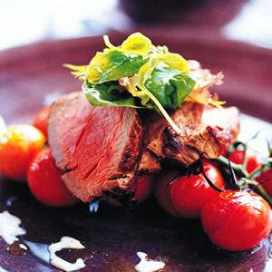 蕃茄蒜醬牛肉