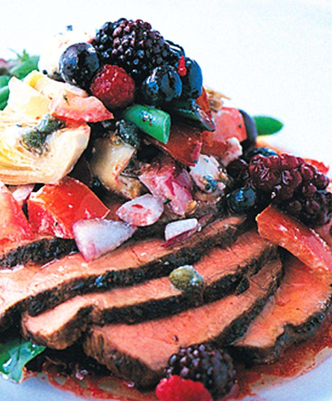 食譜:牛肉莓果沙拉