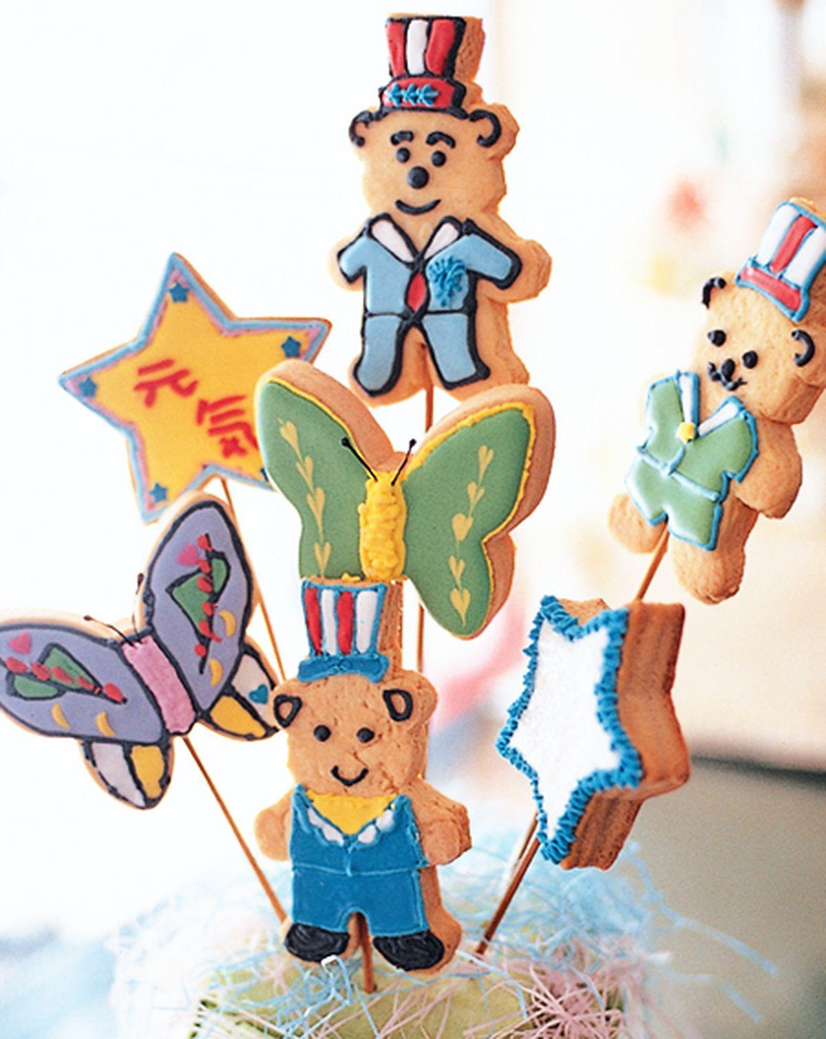 食譜:小熊餅乾花束
