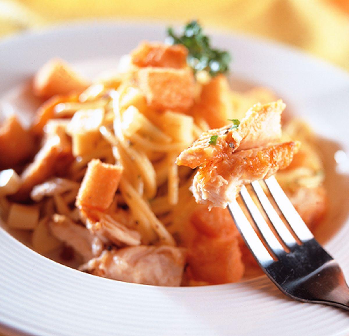 食譜:起士雞肉義大利麵