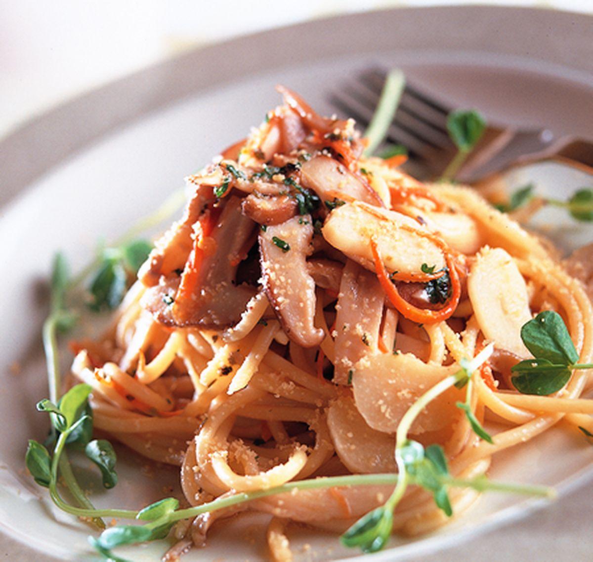 食譜:鮮菇義大利麵