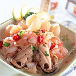 荔枝海鮮麵