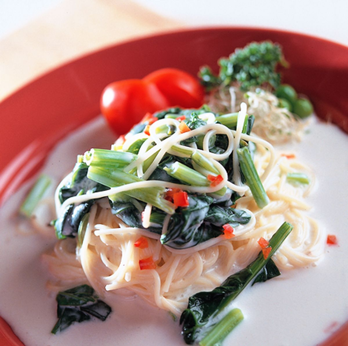 食譜:菠菜義大利麵