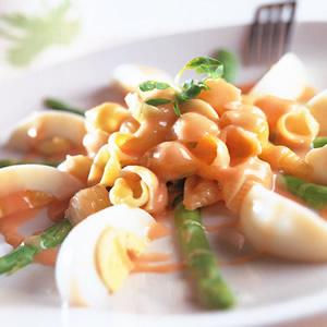蘆筍貝殼沙拉