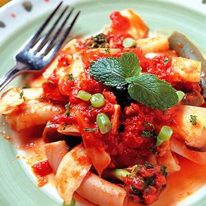 蕃茄野菜麵