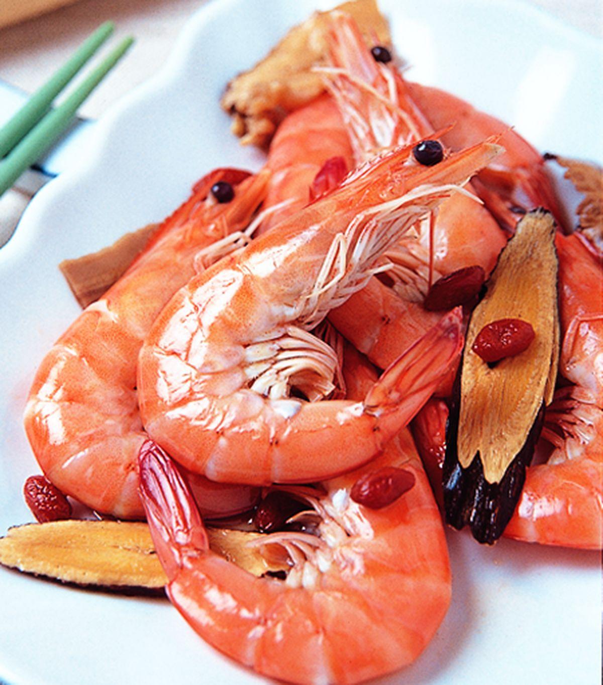 食譜:四物醋醉蝦