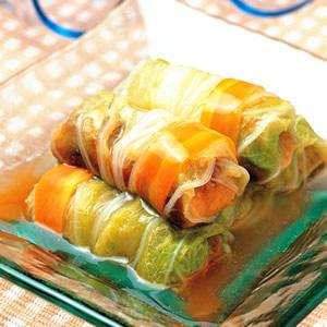 白菜蒲燒鰻卷