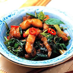 沙茶炒鰻魚