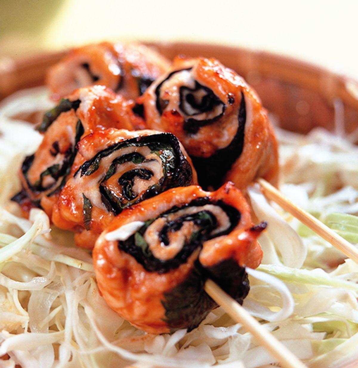 食譜:海苔雞柳串