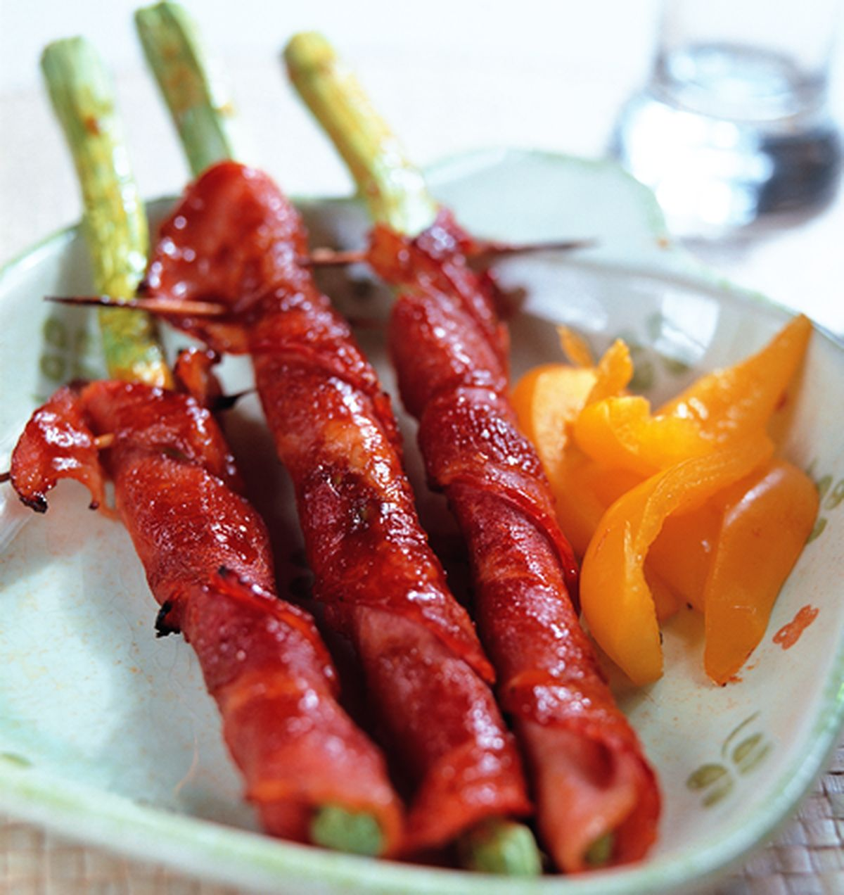 食譜:辣五花籚筍卷