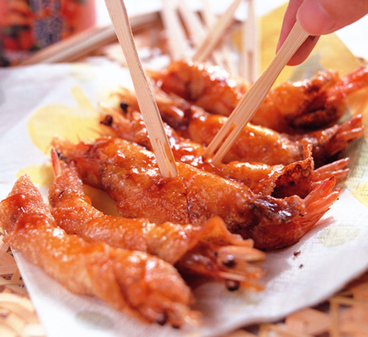 食譜:炸蝦捲