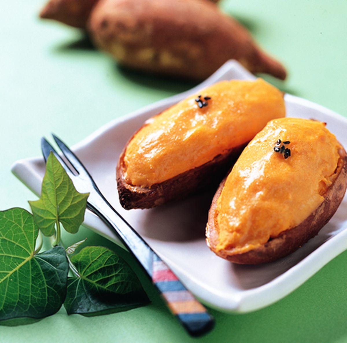 食譜:燒蕃薯