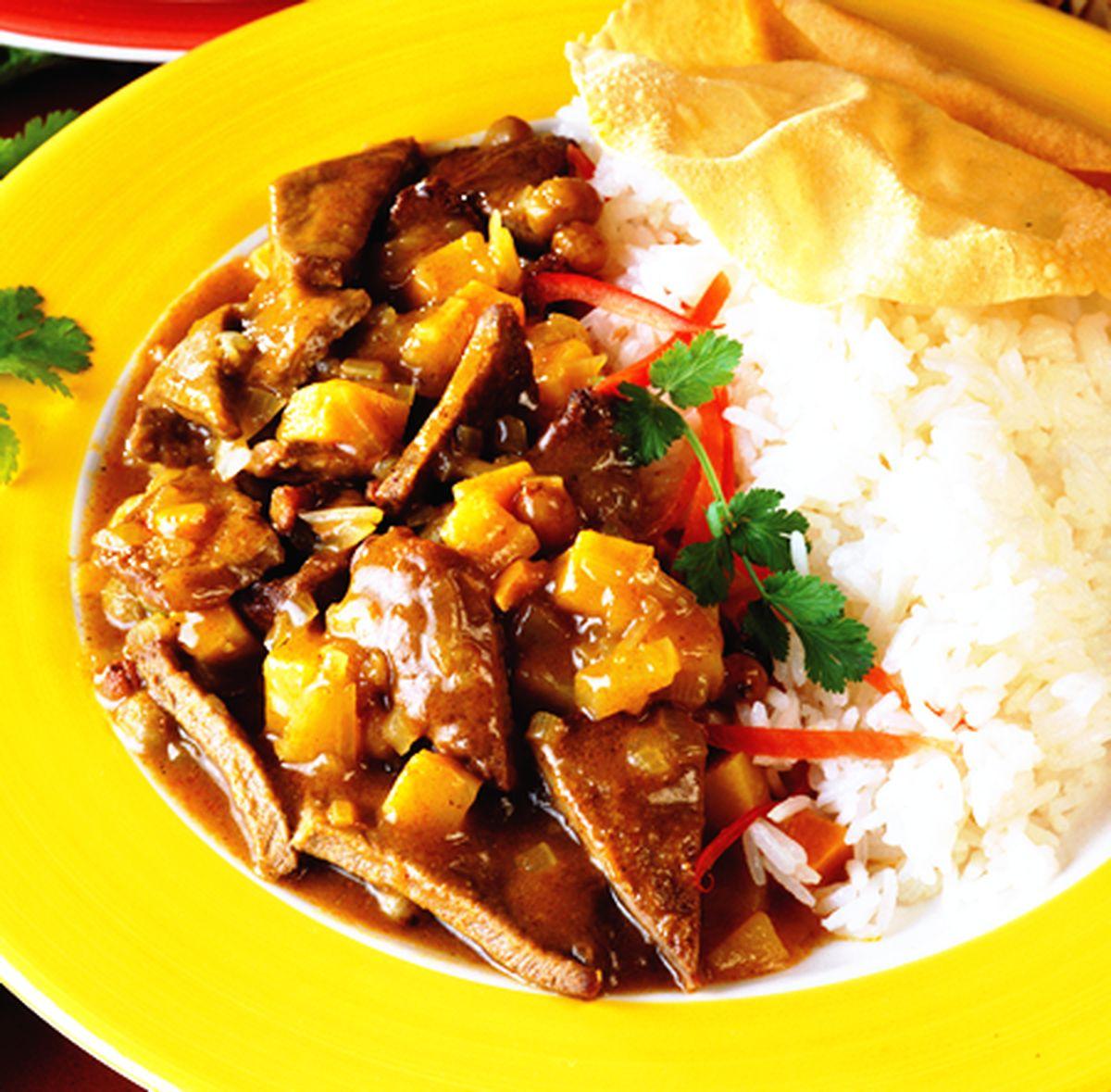 食譜:印度咖喱炸小牛肉片
