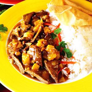 印度咖喱炸小牛肉片