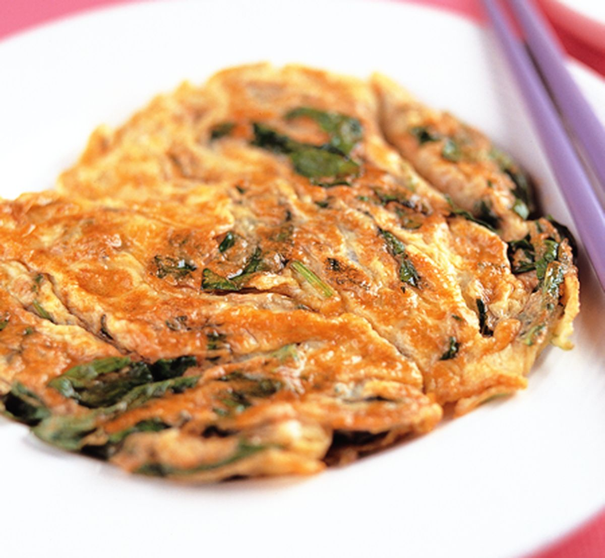 食譜:九層塔煎蛋(1)