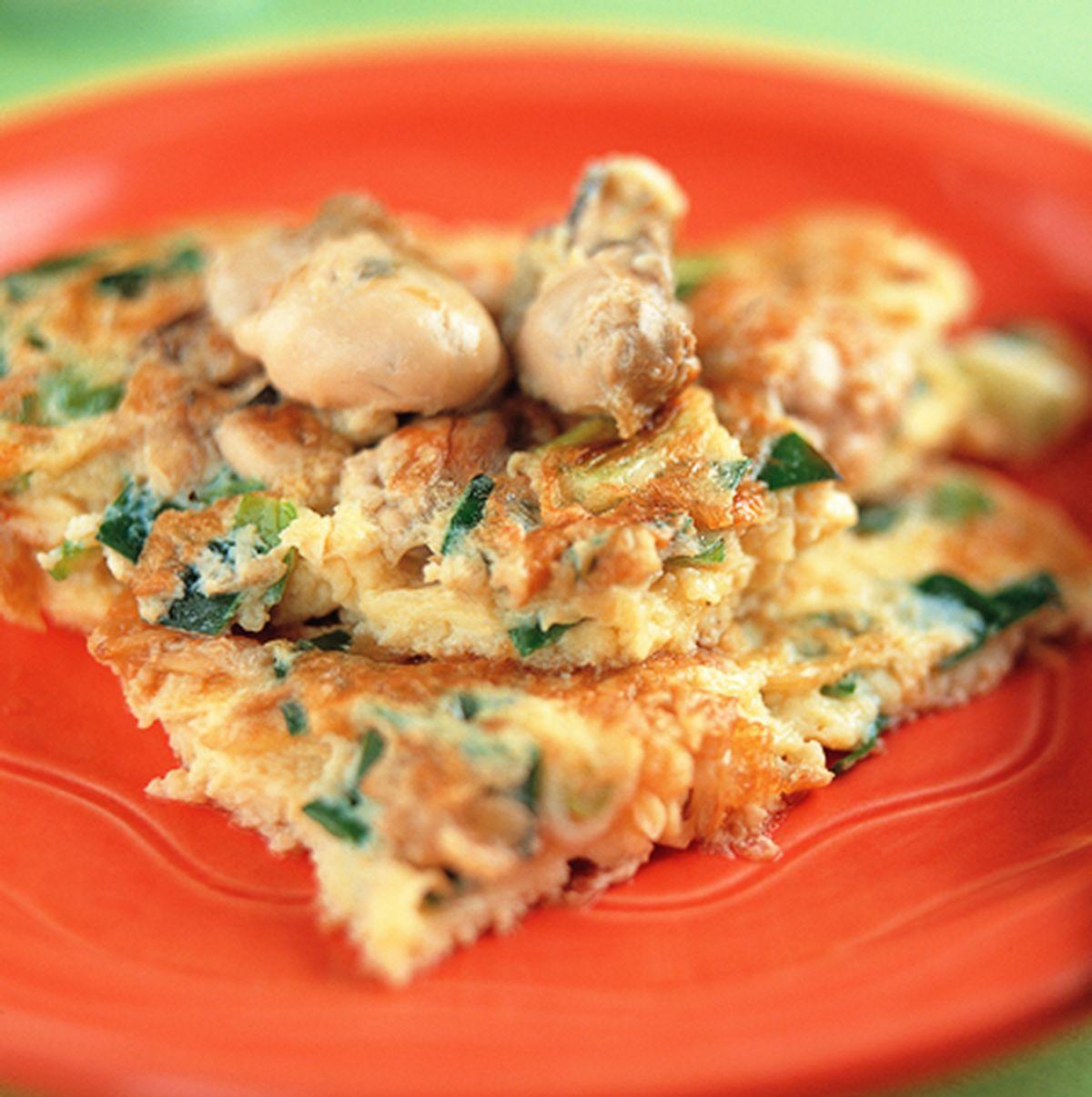 食譜:鮮蚵煎蛋
