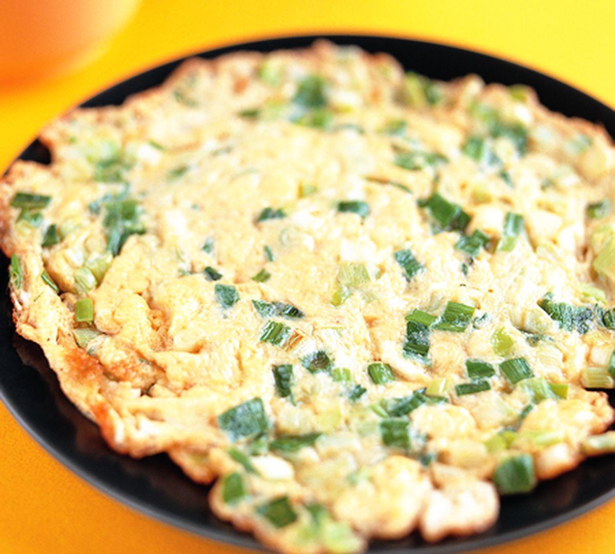 食譜:蔥蛋