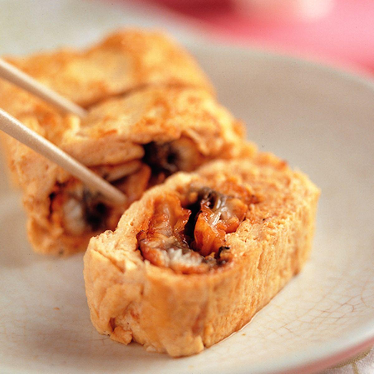 食譜:鰻魚風味厚蛋煎