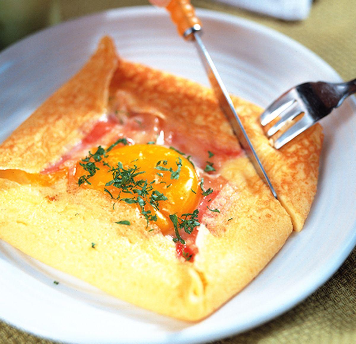 食譜:法式蛋餅