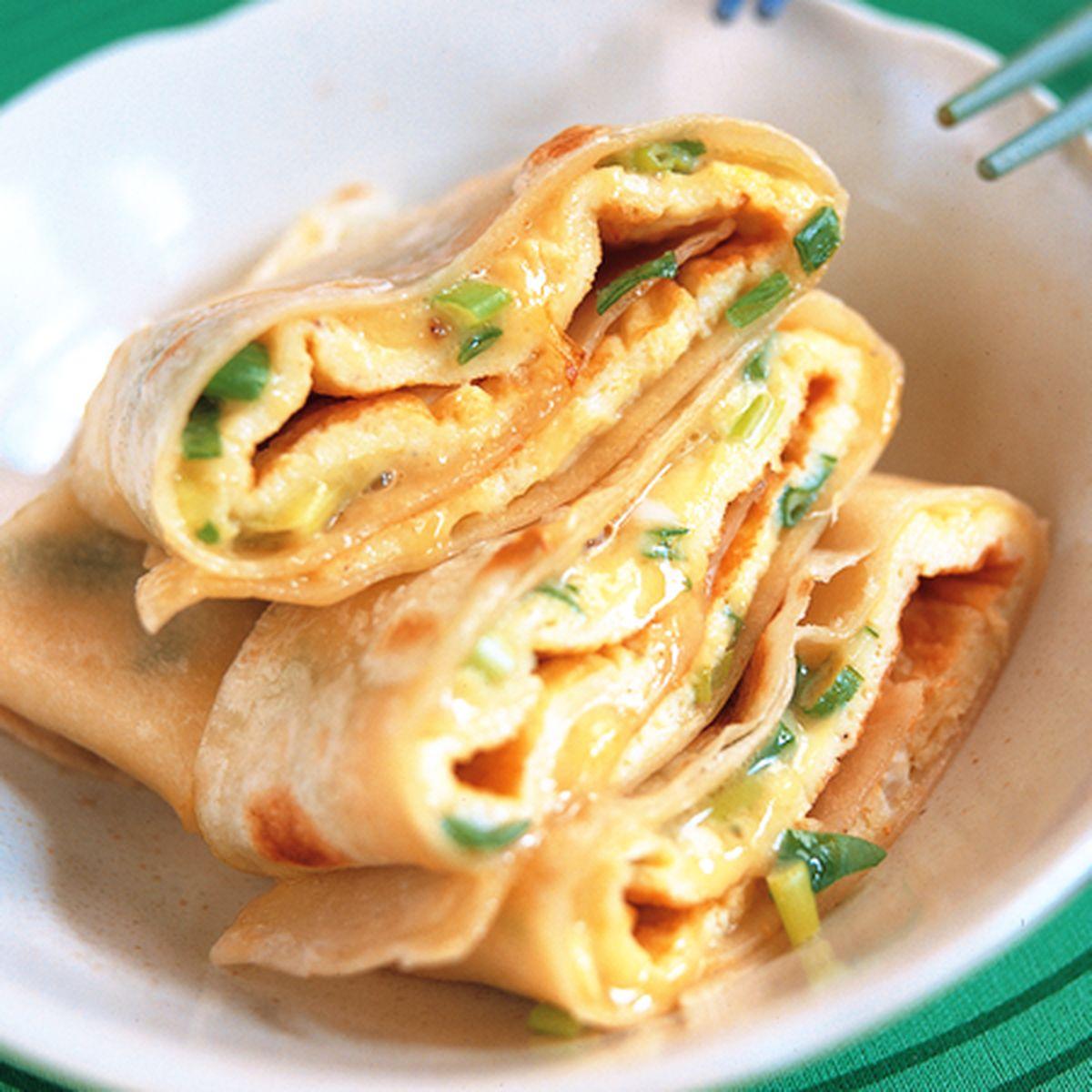 食譜:中式蛋餅
