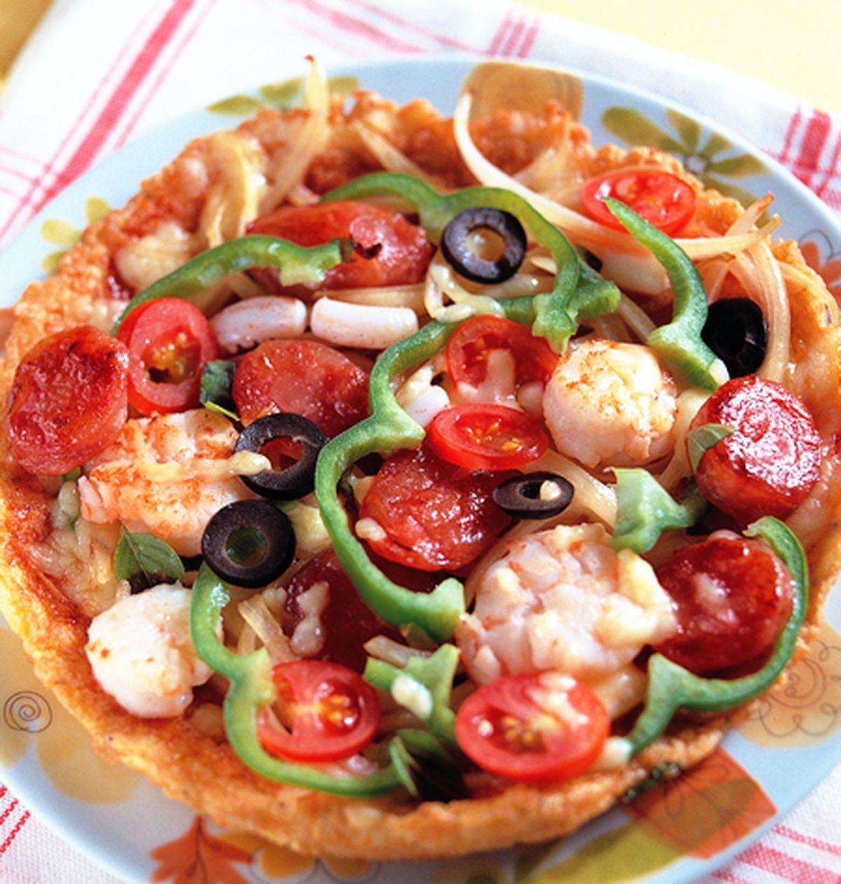 食譜:比薩風味煎蛋