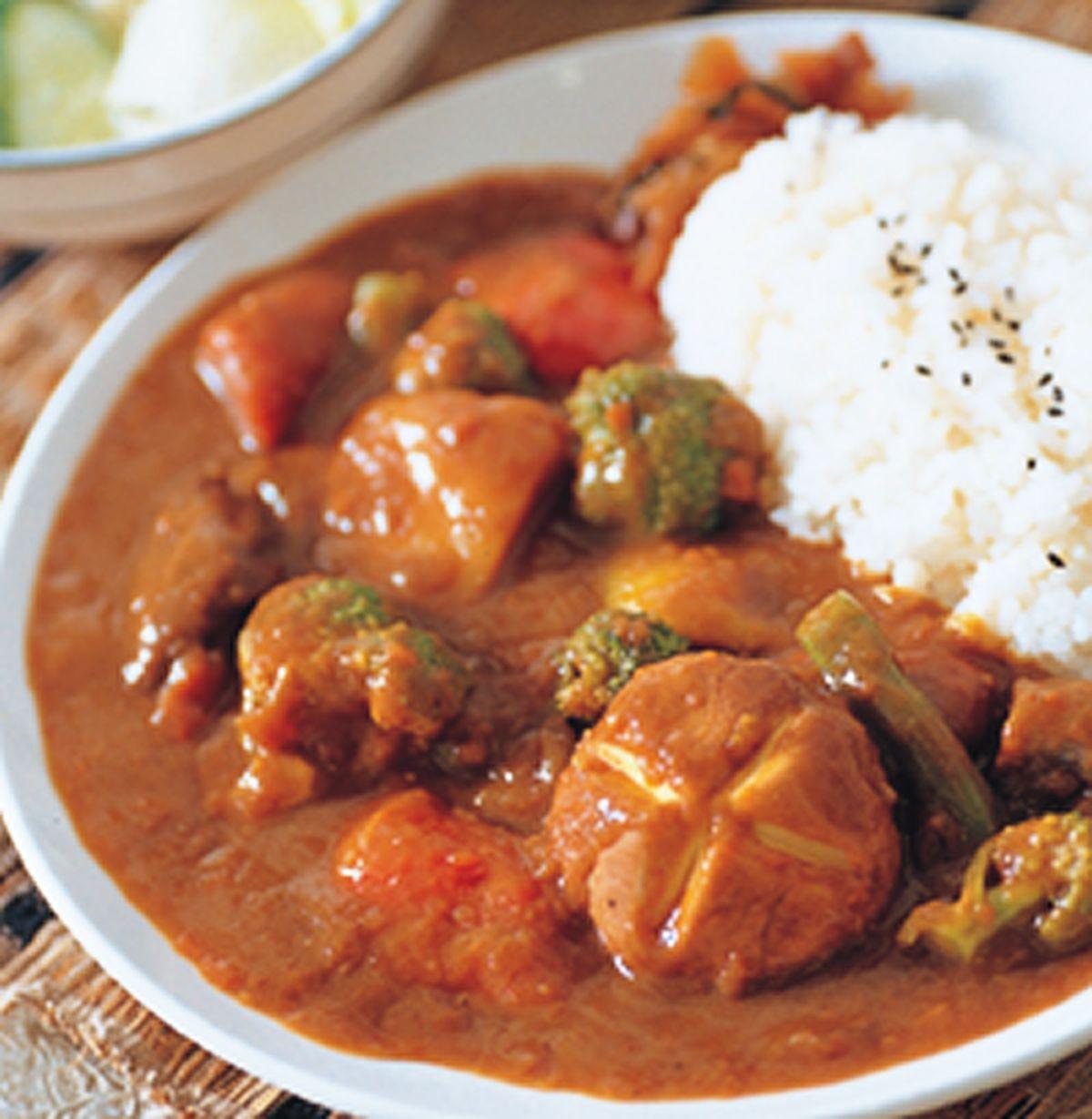 食譜:蔬菜咖哩