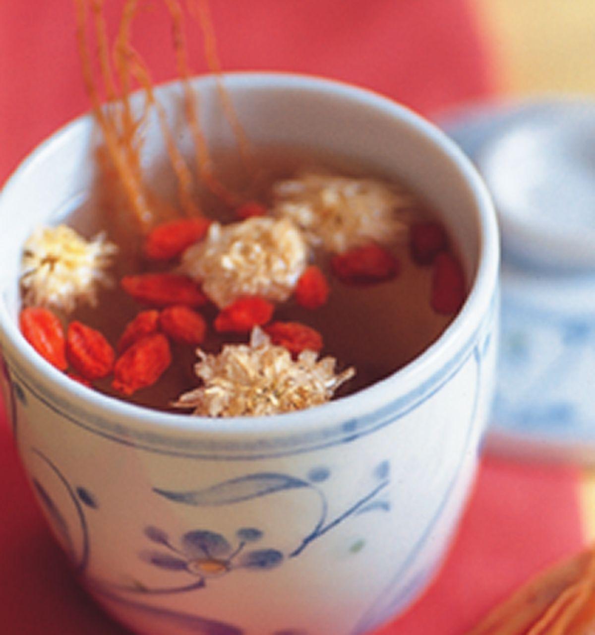 食譜:參鬚杞菊茶