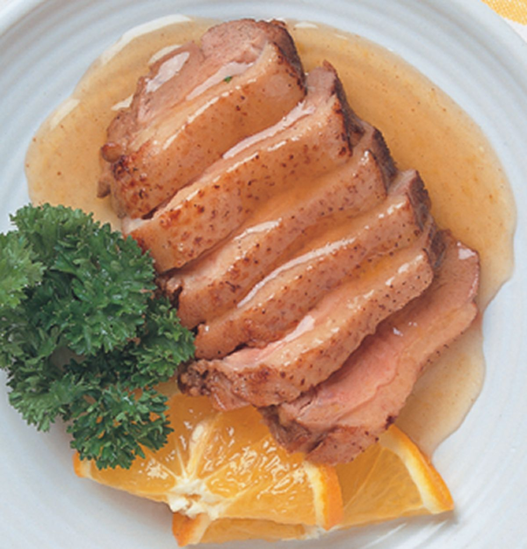 食譜:香橙可樂鴨