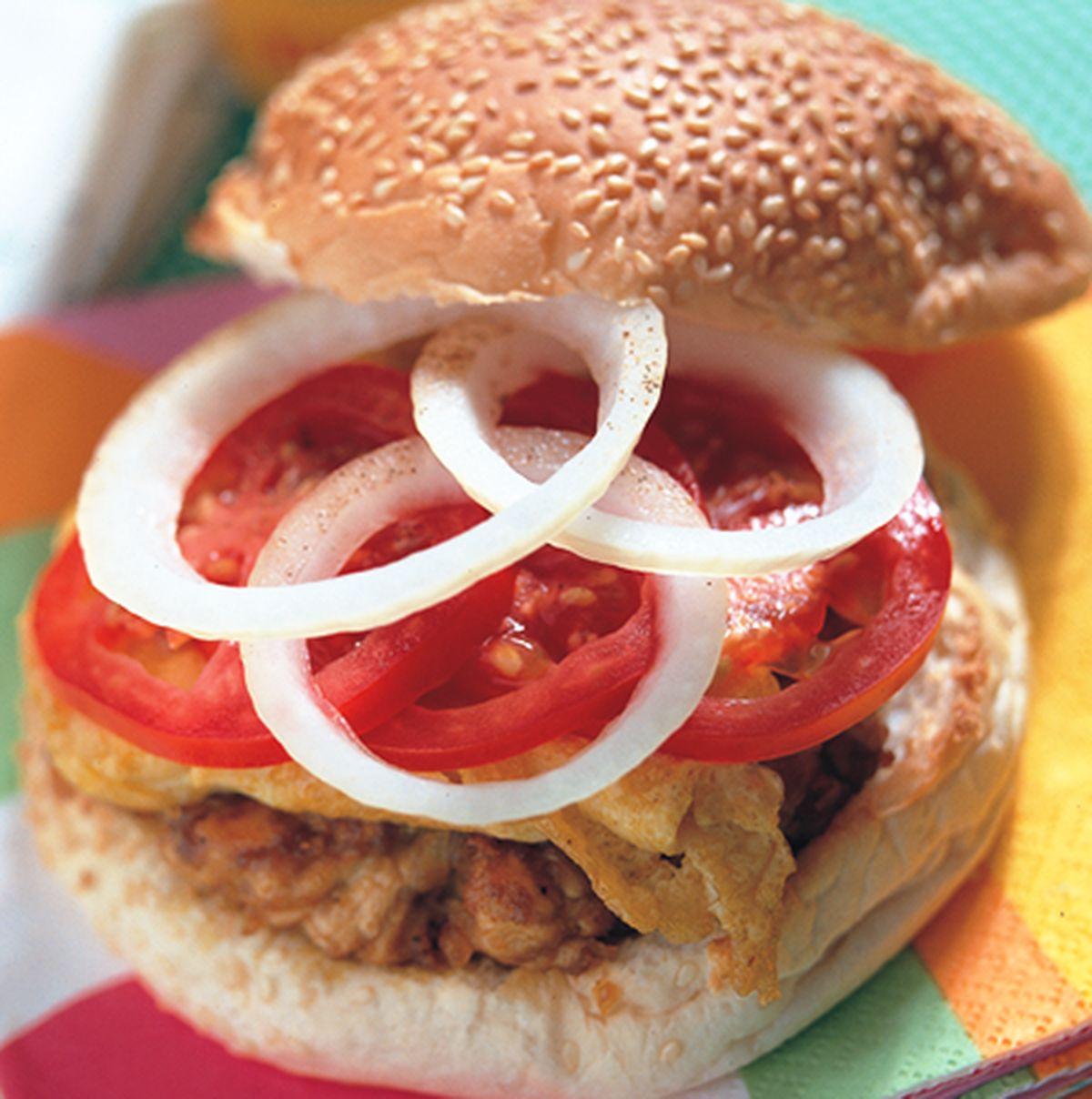 食譜:咖哩雞肉漢堡