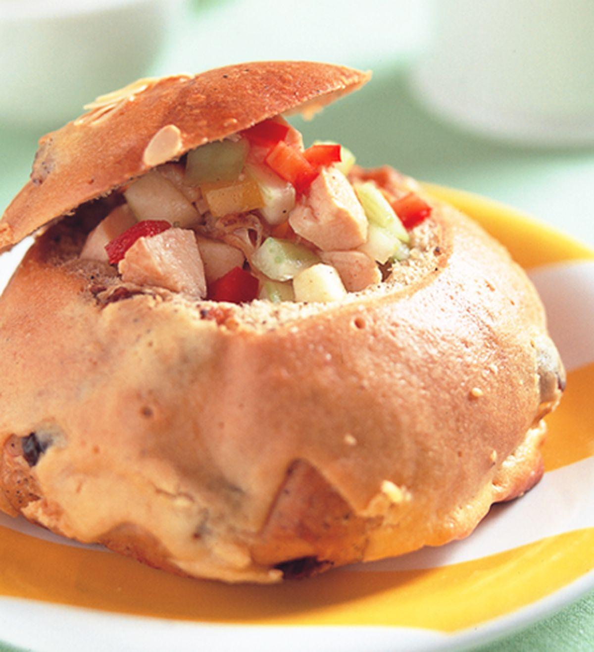 食譜:雞肉蘋果沙拉堡