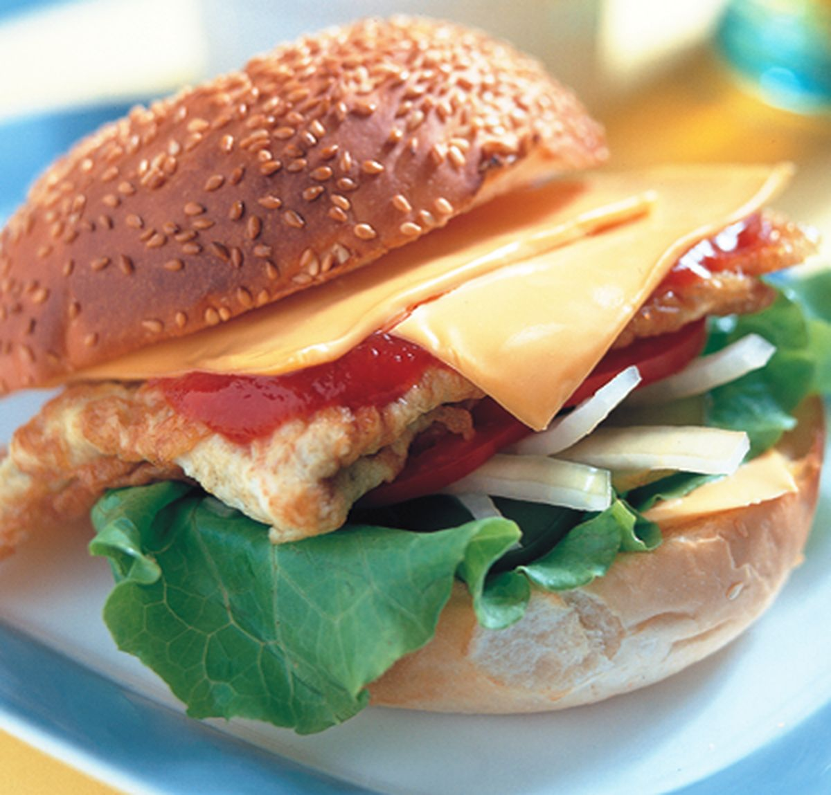 食譜:燻起司漢堡
