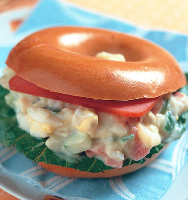 食譜:培果洋芋沙拉堡