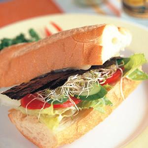 蔬菜潛艇堡
