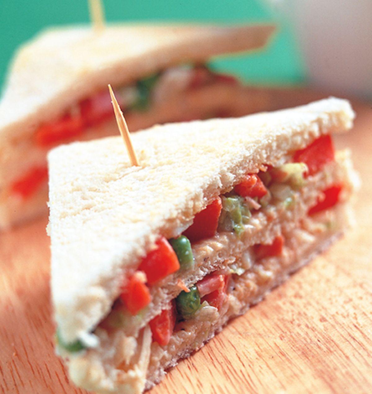 食譜:馬鈴薯三明治