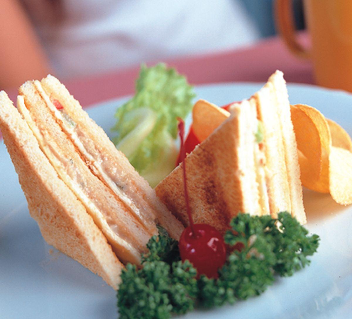 食譜:燻火雞肉三明治