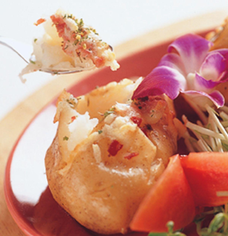食譜:奶油烤馬鈴薯