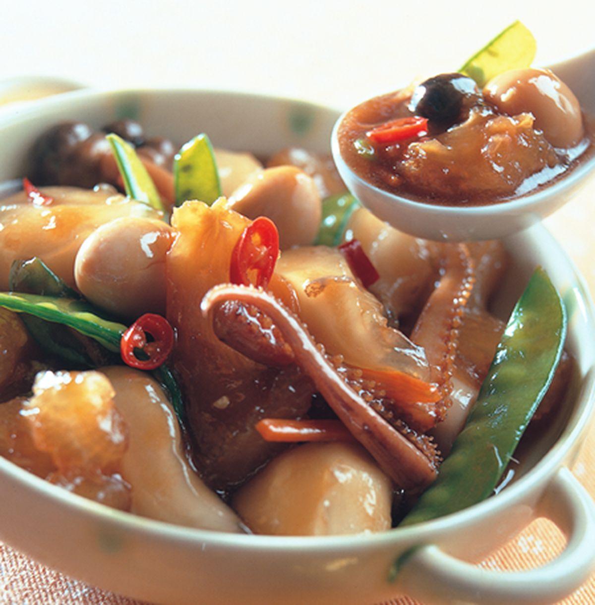 食譜:水晶燴海參