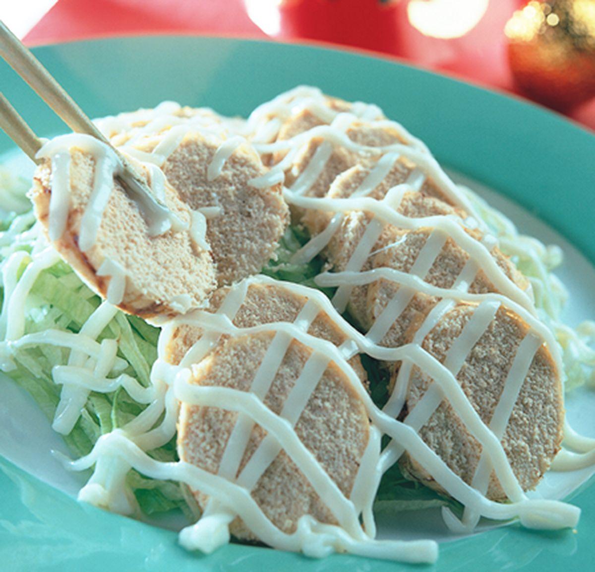 食譜:魚卵沙拉