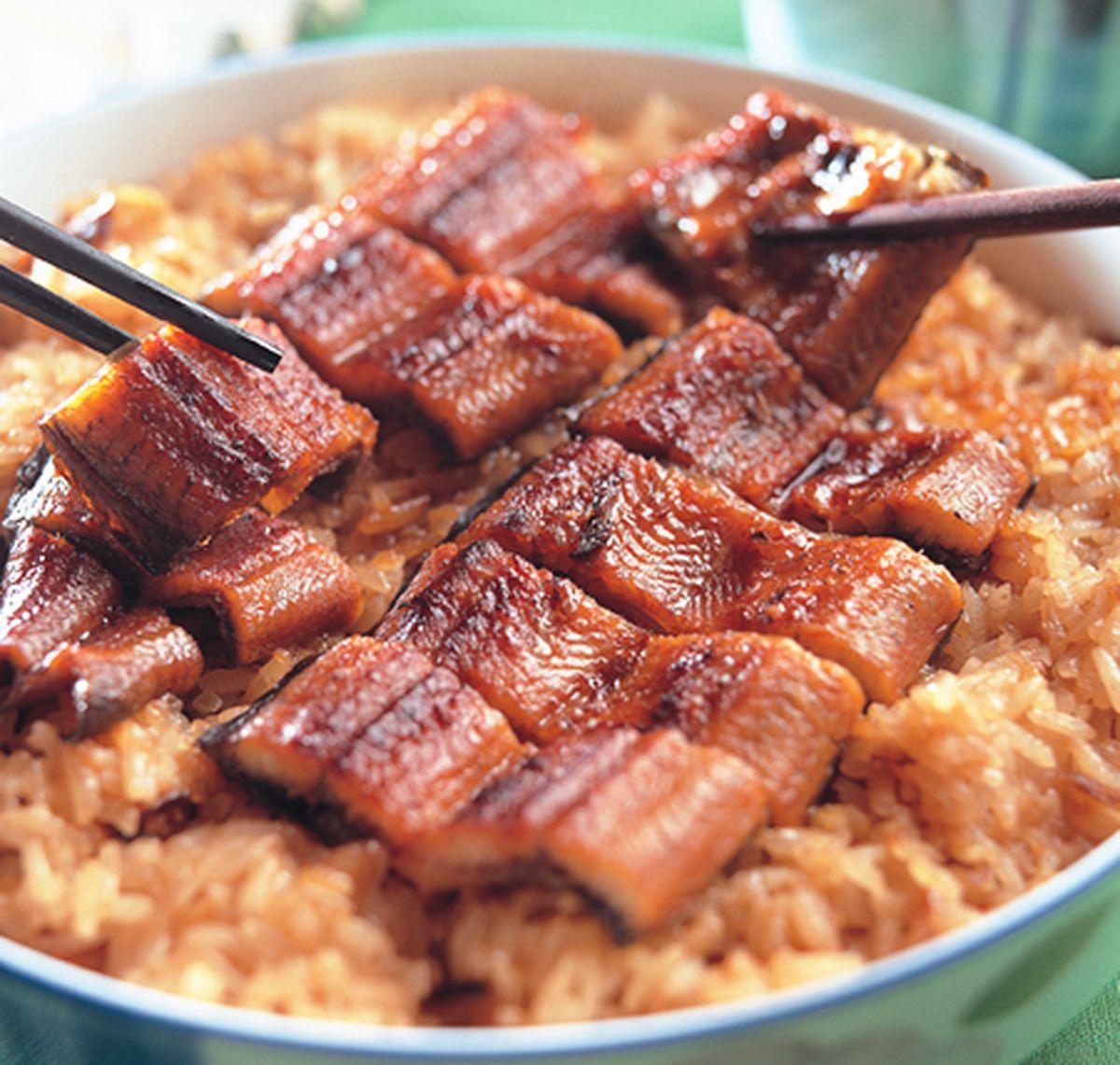 食譜:鰻魚米糕
